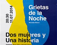 Grietas de la Noche — Poster design, 2014