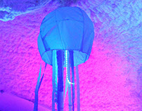 Paper-light up Jellyfish