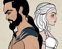 Drogo & Daenerys - Power Girll Collab - Valentines