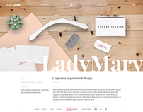 Lady Mary. Corporate experiential design