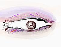 Historia del ojo, Bataille... el Ojo de Orus...