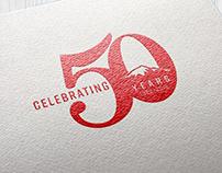 PPCC 50th Anniversary Logo