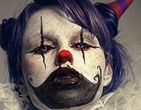 evil clown giulia