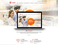 CamlinFS website design