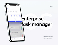 Enterprise app task manager