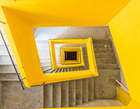 Spiral staircases I photographed around the world