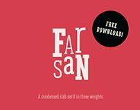 Farsan – A Slab Serif