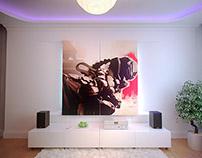 2011. Design Timur's room.