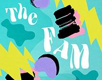 The FAM Music: Graphic Design
