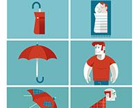 Life is an umbrella