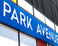 Park Avenue. Center design and interior.