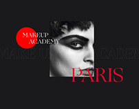 Makeup Academy from Paris Landing Page