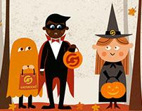 Halloween in Gamanoid!