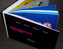 Handmade book | Contrastes de color
