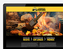 Cozinha na Montanha Landing Page