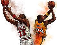 Jordan vs Kobe