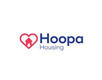 Hoopa Housing Brand Identity Design
