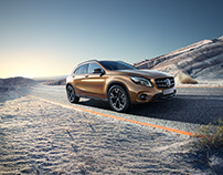 Daimler GLA Campagin and Brochure shoot