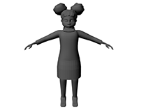 Thesis Project Character Model WIP