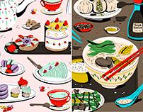 Food Triptych