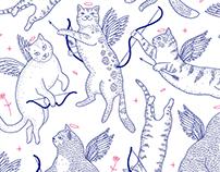 Valentine's cats