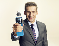 Powerade - newsletter campaign, landing page
