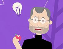 5 Mordidas de Steve Jobs