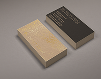 Business Card Design for Management Consultant
