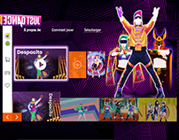 UI Site Web design