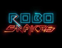 RoboSnakes - Game UI and logo design