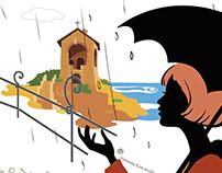 Alassio - Cappelletta sul mare