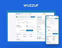 WUZZUF Website and Mobile App Redesign Concept