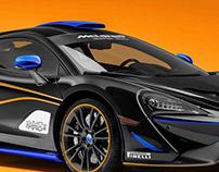 """McLaren 570S GT4 """"Shadow"""" concept"""