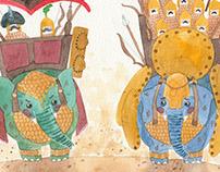 """The Two Elephants"""