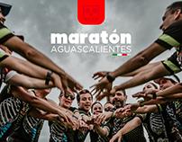 Branding Maratón Aguascalientes 2018