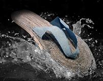 'Wellen' Recycled Flip Flops (NUIM)