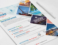Holiday Travel and Tour Flyer