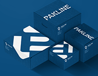 Pakline logistics brand development