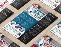 Free PSD : Multipurpose Corporate Flyer PSD Template