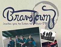 Brave Town Band Interactive PDF Invitation