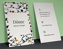 Projet Business Card Dôme