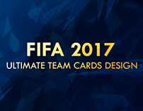 FIFA 2017 - Ultimate Team Cards Concept