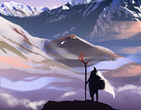 Mountain wizard