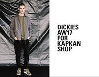 Dickies AW17 for Kapkan Shop