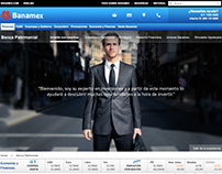 Banamex Banca Patrimonial / Banca Privada / Website