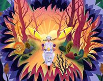 Algida Unicornetto - Illustrations