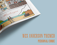 Wes Anderson themed personal Comic