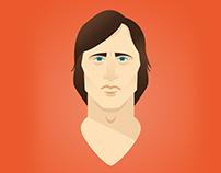 Johan Cruyff Portrait