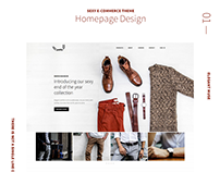 Paths - Muse E-commerce Template