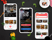 Chef House - Food App Design